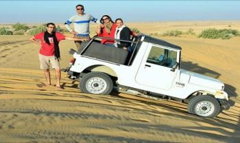 Desert Jeep Safari Adventure Activities Dune Bashing Thar Desert Tour
