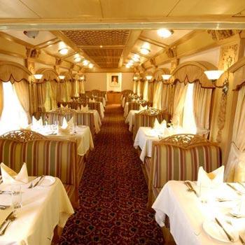 Indian Odyssey Journey  The Deccan Odyssey Luxury Train Tour