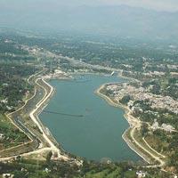 SUNDER NAGAR  LAKE