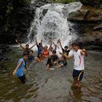 Waterfall Rappelling at Diksal Waterfall Bhivpuri Tour