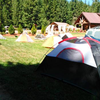 Camping with Friends Group Tour