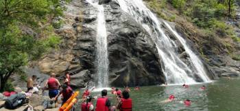 Dudhsagar Waterfall Trip