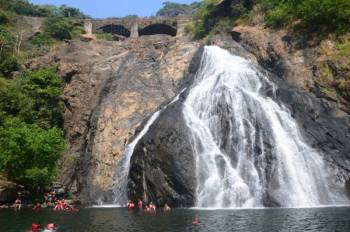 Dudhsagar With Watersports Trip