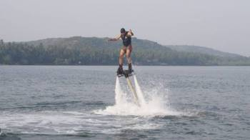 Flyboarding in Goa