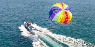 Jet-Ski and Parasailing in Goa