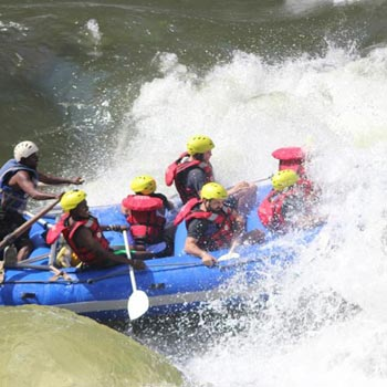 Full Day White Water Rafting Tour