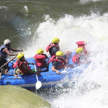 Full Day White Water Rafting Tour