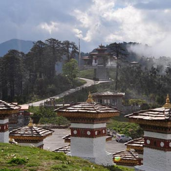 07N08D New Year Package At Bhutan (Via Phuentsholling)