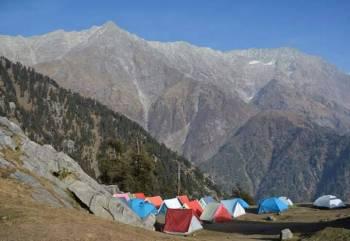 Trek to triund Camping at Gallu Tour