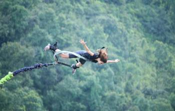 Combo Package GVA 01- Deluxe Camping Rafting and Bungee Jumping - (1 Night Stay)