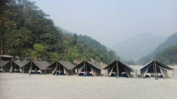 Nature Camp Tour (16 Kms Rafting Trip + Waterfall Hiking Trip)