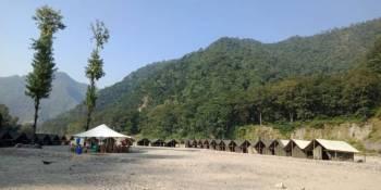 Nature Camp Tour (16 Kms Rafting Trip + Waterfall Hiking Trip)