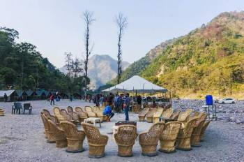 Nature Camp Tour (26 Kms Rafting Trip + Waterfall Hiking Trip)