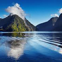 Pristine coast and rainforest – fine wines – Routeburn & Milford tracks – fly into Milford Sou