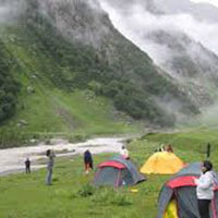 Camping and Paragliding Package