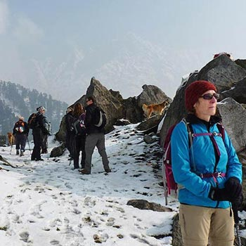 Trek To Inderahara From Mcleodganj Tour