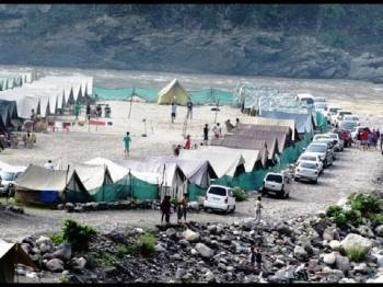Camping in Rishikesh Tour