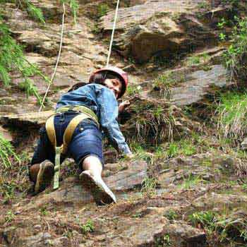 Rock Climbing in Rishikesh Tour