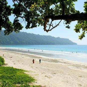 Port Blair To Havelock- Radha Nagar Beach