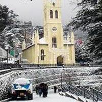 Shimla snow