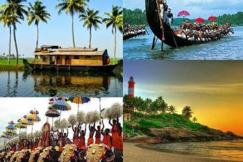 Stunning Kerala Tour Package With Houseboat(3 Nights and 4 Days)