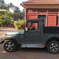 Self driven Mahindra Thar Jeep for Hire in North Goa Tour