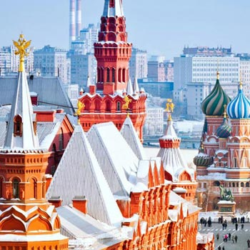 Russia Package For 7 Days ( Group Departure)