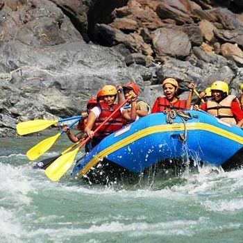 1Night Stay Shivganga Camp (Jungle Camp)-(18Kms Rafting) Tour