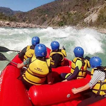 Bhagirathi Rafting Expedition Tour