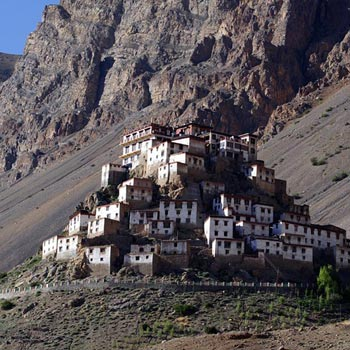 Kinnaur & Spiti Tour Package 09 Nights/10 Days (02 Overnight Journey)