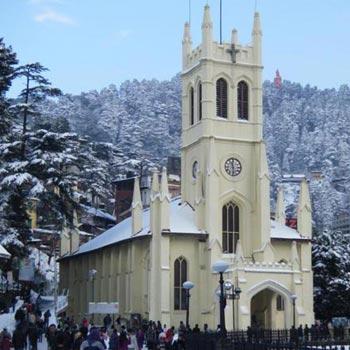 4 Night 5 Days Delhi-Shimla-Chail -Delhi / Cab Tour
