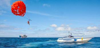 Boat Cruise with Watersports, Drinks and Lunch (code: Tr Dly F)