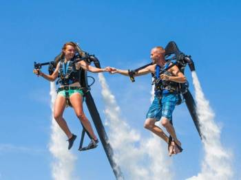 Jetlev Flying Experience in Goa (code: Tr Dly F)