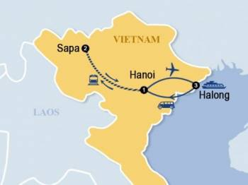 Best of Hanoi – Sapa – Halong on cruise