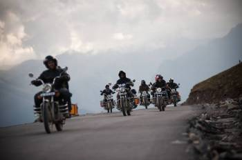 Bike Expidition – Manali to Leh (one Way) – Gaur F 1103