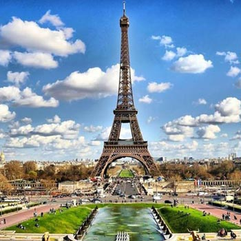 Paris, Switzerland 6N/7D Package