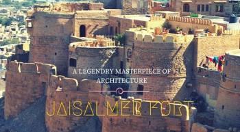Jaipur Udaipur Jaisalmer Jodhpur Tour