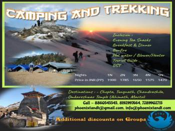 Camping and Trekking