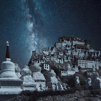 Star Gazing in Ladakh