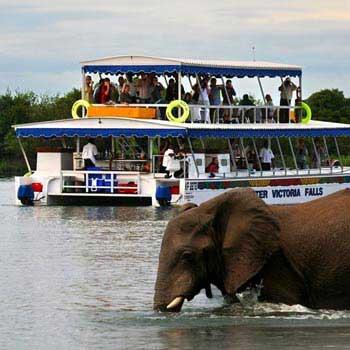 Sunset Boat Cruise in Livingstone