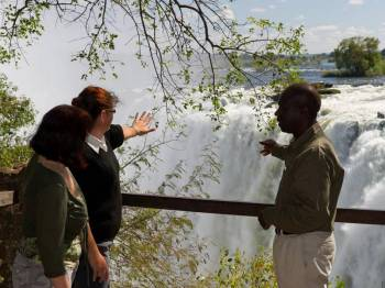 Guided Victoria Falls Tour