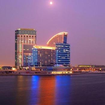Dubai - Crowne Plaza Dubai Tour