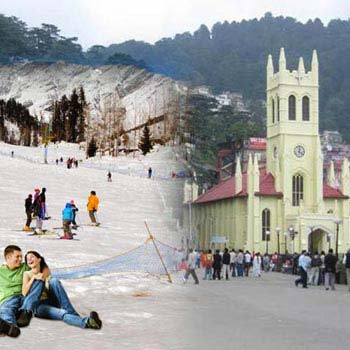 Shimla Manali Honeymoon Trip Tour