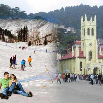 Best of Shimla & Manali Honeymoon Special Package