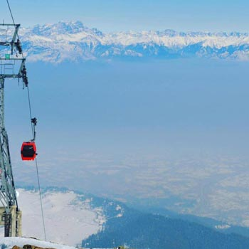 World highest cable car GULMARG GONDOLA