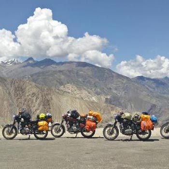 Bike Tour From Manali To Ladakh Tour