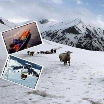 4N/5D Srinagar - Sonomarg - Gulmarg - Pahalgam Tour