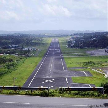 Andaman Airport Runway
