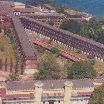 Cellular jail tope view