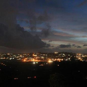 Port Blair City Night light